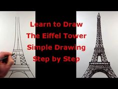 How to Draw The Eiffel Tower: A Simple Step by Step Tutorial