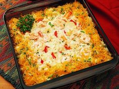 Florida Seafood Casserole, Taste of Home mag