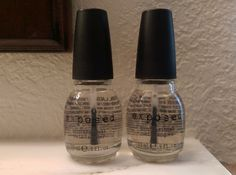 EXPOSED NAIL POLISH LOT OF TWO CLEAR NEW ❤❤  #EXPOSED