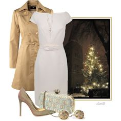 Christmas Eve Church Service, created by christa72 on Polyvore