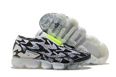 09b52c2a80e ACRONYM x Nike Air VaporMax Moc 2.0 jogging shoes White Black Off white x  AQ0996-
