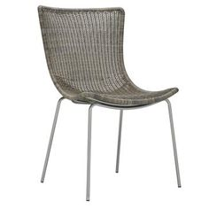 JANUS et Cie for outdoor furniture. Not necessarily this dining chair, but the brand in general for chaises, tables, chairs, etc.