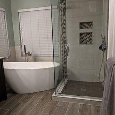 Deciding On Rapid Programs In Beautiful Bathroom Decor Ideas - Tico Geeks Bathroom Renos, Bathroom Layout, Bathroom Interior Design, Bathroom Renovations, Home Interior, Bathroom Ideas, Bathroom Inspo, Bathroom Organization, Tile Layout