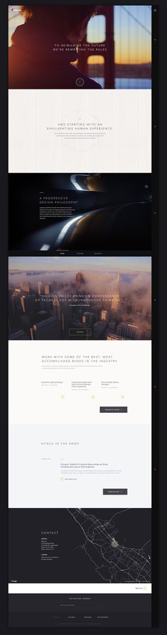 Atieva Recruitment Site on Behance