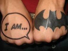 I am....Batman.