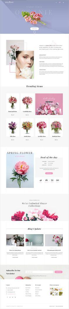 Organie is a wonderful responsive 12in1 WooCommerce #WordPress theme for #webdesign organic store, farm, cake and #flower shop eCommerce website download now➩ https://themeforest.net/item/organie-an-organic-store-farm-cake-flower-shop-woocommerce-theme/18777939?ref=Datasata