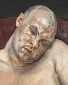 Lucian Freud 'Leigh Bowery', 1991 © The Lucian Freud Archive / Bridgeman Images
