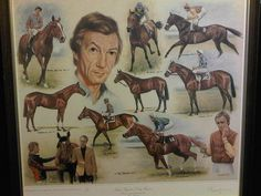 Lester Piggott's Derby Winners - Limited Edition Print by Ken Jones Derby Winners, Black Stallion, Sport Of Kings, Horse Horse, Racehorse, Equine Art, Thoroughbred, Limited Edition Prints, Courses