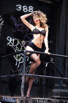 model Angela Martini shot for Sports Illustrated