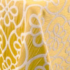 Flow | Color: Lemon - La Tavola Fine Linen