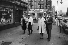 Peace Corps trainees Jacquelyn Roberto and Richard Schenk on Amsterdam Avenue and 92nd Street on Oct. 10, 1962.