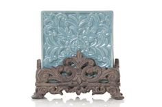 Drake Design Ceramic Coasters in Resin Base, Turquoise, 5 by 5-Inch, Set of 4 by Drake Design. $30.70. Functional coaster set of 4. High quality ceramic construction. Dishwasher safe. Beautiful design, turquoise color. Comes in a sturdy box. Enjoy this elegantly designed coaster set by drake design. Made with high quality ceramic material, this item will make a great addition to your kitchen and home decor.