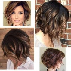 Want To Look Younger? These Haircuts Are For You! 2019 Trends DailyNoticia Page haircuts are very trendy among women of all ages. Even short hair can give a feminine and fresh impression. It can also make you look younger and sexy. Popular Short Haircuts, Sassy Haircuts, Haircuts For Wavy Hair, Haircut For Thick Hair, Short Hair Cuts, Styling Short Hair Bob, Color For Short Hair, Short Wavy Hairstyles For Women, Beach Waves For Short Hair