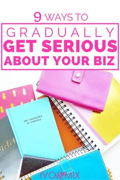 9 ways to gradually get serious about you side-business and turn that blog into profit