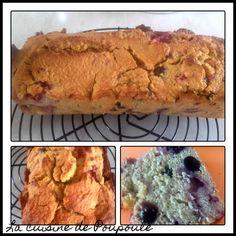 Cake moelleux fraise et cerise confite sans gluten / La cuisine de poupoule Un Cake, Sans Gluten, Mai, Banana Bread, Desserts, Strawberries, Everything, Food, Flowers