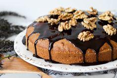 Przepis na ciasto z dyni z orzechami włoskimi Cake, Food, Kuchen, Essen, Meals, Torte, Cookies, Yemek, Cheeseburger Paradise Pie