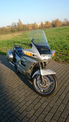 My Honda Pan European from First production year of this model and an amazing hit. 24 years later, a pleasure to drive on it. 24 Years, Dream Garage, Airstream, Motorbikes, My Dream, Honda, Amazing, Life, Motorcycles