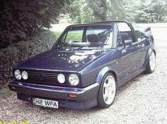 My old Golf Cabriolet