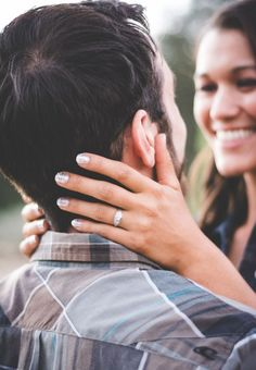 19 Awesome Ring Shots To Announce Your Engagement ~ we ❤ this! moncheribridals.com