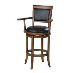 ACME 07031 Chelsea High Back Swivel Bar Stool Oak Finish For Sale https://kitchenbarstools.life/acme-07031-chelsea-high-back-swivel-bar-stool-oak-finish-for-sale/