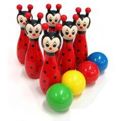 Ladybird Bowling Set - CleverStuff