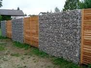Image result for hardwood slats fencing