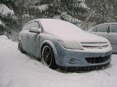 Astra Cleaned [Astra H 1.7 CDTI 80ch #voiture #automobile #givre #hiver #froid #polaire #glace #glaciale #winter #ice #quartierdesjantes Quartierdesjantes.COM