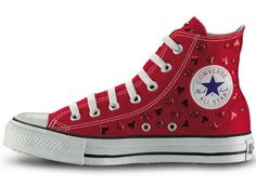 Convers all star looks like valentines day shoes don't you think