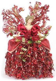 "10"" Angel Branch Ice Burgundy Tree Topper by American Silkflower, http://www.amazon.com/dp/B006C1IXLO/ref=cm_sw_r_pi_dp_PXK1rb0DJGGB3"