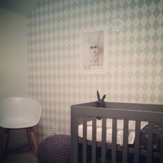 Sneak preview - Jongens - babykamer - behang ferm living - poster Simone de Geus.