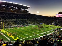 Autzen on Pink night  Wtdphotography.com