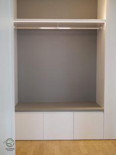 - Schreinerei Holzdesign Ralf Rapp - Beyond Binary Bedroom Murals, Bedroom Loft, Bamboo Room Divider, House Entrance, Ikea Hack, Cool Walls, Home Accents, Wall Design, Living Area