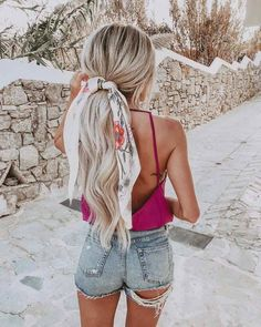 Best Ponytail Hairstyles (fast and easy) - Inspired BeautyYou can find Fast hairstyles and more on our website.Best Ponytail Hairstyles (fast and easy) - Inspired Beauty Ponytail Hairstyles, Summer Hairstyles, Amazing Hairstyles, School Hairstyles, African Hairstyles, Trendy Hairstyles, Bandana Hairstyles For Long Hair, Long Haircuts, Braid Hairstyles