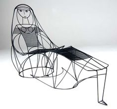 Lady Lounge Chair by John Risley #Chair #John_Risley