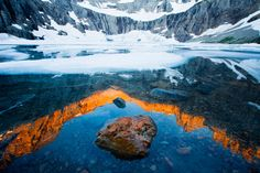 Iceberg Lake, Glacier National Park, Montana | photo by Richard Bernabe