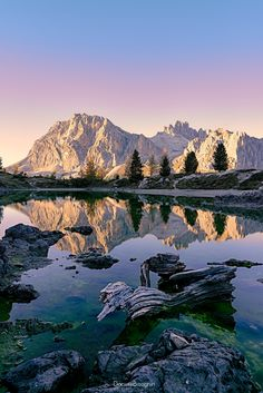 Lake Limides, Cortina D'ampezzo, Italy by Daniele Bisognin