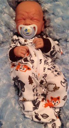 """MOMMY'S BABY BOY""! PREEMIE Berenguer Life Like Reborn Pacifier/2 BOTTLES EXTRAS #BERENGUER"