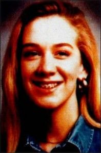 "Leslie Erin Mahaffy. Born July 5, 1976, to supposedly infertile parents, she was a ""miracle"" baby. As a youngster she was close to her family. At fourteen she began to rebel and run away, but she always called home during her abstences. On June 14, 1991, she stayed out way past curfew and was locked out of the house. Near a payphone, Paul Bernardo and Karla Homolka kidnapped her, torturing her and murdering her on June 16. She was two weeks shy of her sixteenth birthday."