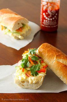 The Taste Tester: Egg Salad Banh Mi
