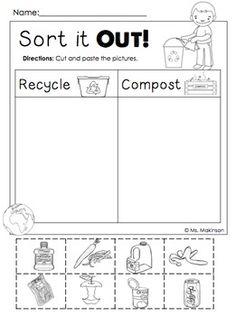 Recycling Worksheets for Kindergarten. 20 Recycling Worksheets for Kindergarten. Earth Day Worksheets, Earth Day Activities, Tracing Worksheets, Preschool Worksheets, Printable Worksheets, Shapes Worksheets, Therapy Activities, Writing Activities, Shapes Worksheet Kindergarten