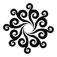 Tattoo Designs - Zodiac, Celtic and Tribal Tattoos Aries Zodiac Sign Tattoos Cake Stencil, Stencil Art, Stenciling, Stencil Patterns, Stencil Designs, Cake Designs, Sun Tattoo Tribal, Tribal Sun, Celestial Tattoo