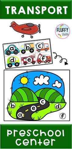 Transportation Theme Preschool Activities (At home learning) Preschool Centers, Kindergarten Fun, Activity Centers, Motor Skills Activities, Fine Motor Skills, Activities For Kids, Transportation Theme Preschool, Cutting Practice, Age 3