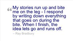 Ray Bradbury's Practical and Inspiring Writing Advice