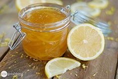 Simple Lemon Jam - it's a simple recipe packed with citrus flavor! Don't you think even the name, Lemon Jam is so tempting? I know it's not the jam season yet, we mostly make it at the end of Summer but this one you can make right now! Lemon Joy, Lemon Marmalade, Dried Lemon, Jam And Jelly, Jelly Recipes, Canning Recipes, Fun To Be One, Food To Make, Cupcakes