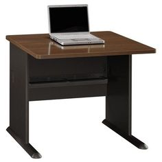 Make a stunning impression within your office with the versatile Bush A-Series Desk . Ideal for business use, this durable desk is constructed. Comfortable Office Chair, Office Furniture Design, Laptop Desk, Furniture Companies, Business Furniture, Desk With Drawers, Modular Design, Home Office Desks, Furniture Making