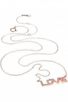 #love I rose gold diamond #necklace I designed for NEW ONE I NEWONE-SHOP.COM