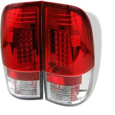 Spyder Auto Ford Mustang Red Clear LED Tail Light - http://musclecarheaven.net/?product=spyder-auto-ford-mustang-red-clear-led-tail-light