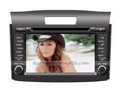 Honda CR-V Autoradio, pure Android car DVD player with 7 inch touch screen, 2 Din GPS navigation with dual zone function, built in Wifi, support USB 3G Internet access, support virtual disc, digital TV tuner (DVB-T MPEG-2 or MPEG-4, ATSC M/H or ISDB-T for optional to suit for customers from different areas), RDS, Bluetooth, iPod, AUX, USB, SD