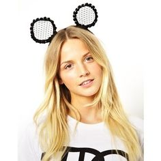 Collection featuring Topshop Hair Accessories, Piers Atkinson Hair Accessories, and 83 other items Johnny Loves Rosie, Ear Headbands, Hair Band, Ears, Topshop, Hair Accessories, Collection, Black, Black People
