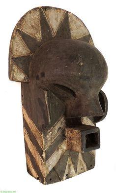 Songye Tempa Sungu OR Tetela Mask Kifwebe DR Congo African   eBay